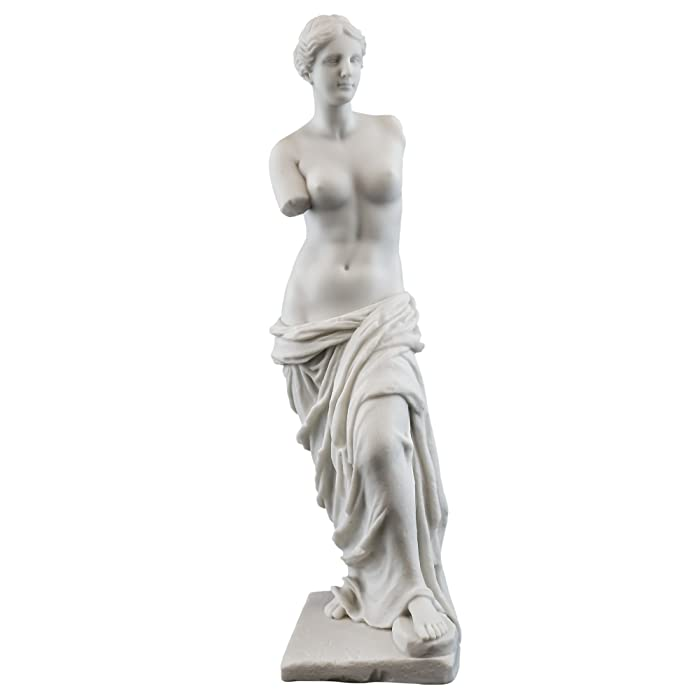 Top Collection Venus de Milo Replica Statue from The Louvre. 11-Inch Premium Cold Cast Marble. Museum-Grade Masterpiece Replica.