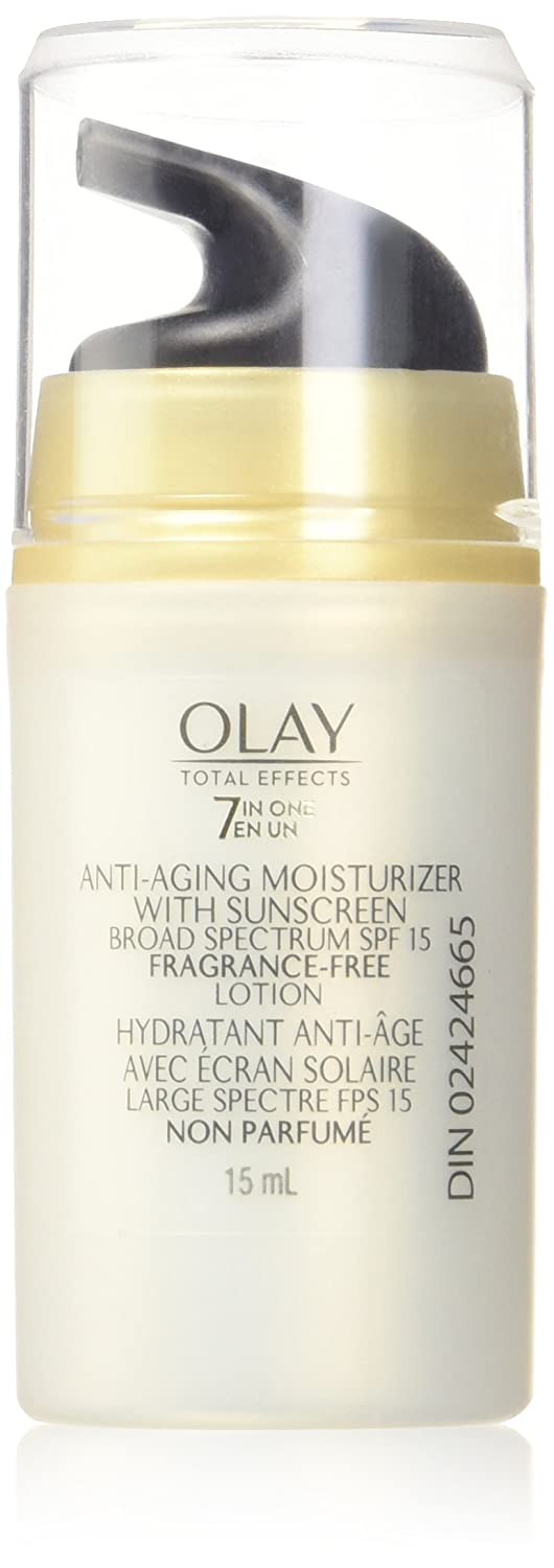 Olay Total Effects 7 In One Anti-Aging Moisturizer With Sunscreen Fragrance-Free 15ml Procter and Gamble