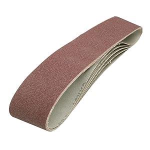 10 MENZER Sanding Belts for Hand Belt Sanders 303 x 40 mm Grit 40