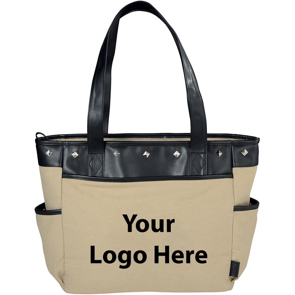 Fine Society Nicole Icon Compu - Tote - 12 Quantity - $32.80 Each - PROMOTIONAL PRODUCT / BULK / BRANDED with YOUR LOGO / CUSTOMIZED