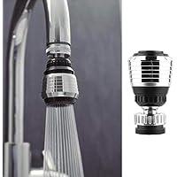 Onisjun New Home Kitchen Badezimmer Nützliche Wasserhahn Bubbler Saving Water Spill 360 ° Wasserauslauf Filter Wasserhähne mit Hebel