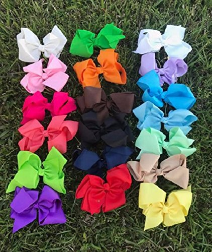 Make a Hair Bow Out Of Wrapping Paper | Skip To My Lou | 500x422