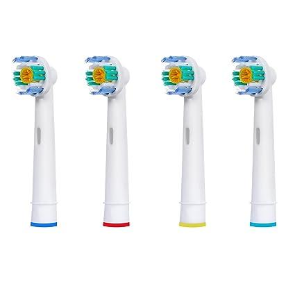 4 uds (1x4) de cabezales para cepillos de dientes E-Cron®.