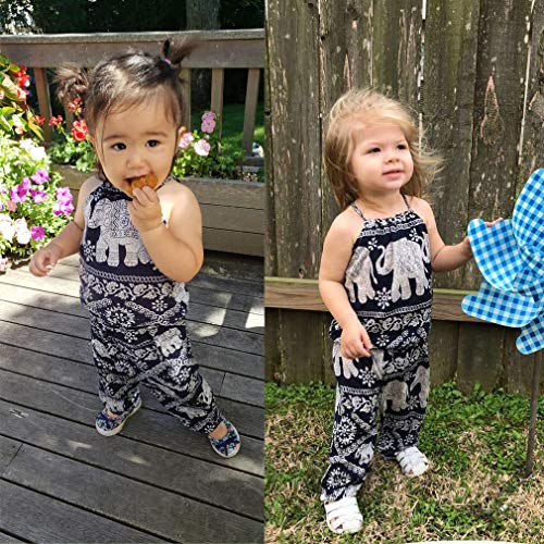 925921201138 Amazon.com  2Pcs Set Kids Baby Girls Jumpsuit Romper