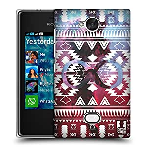 Head Case Designs Navajo Infinity Nebula Tribal Patterns Hard Back Case Cover for Nokia Asha 503