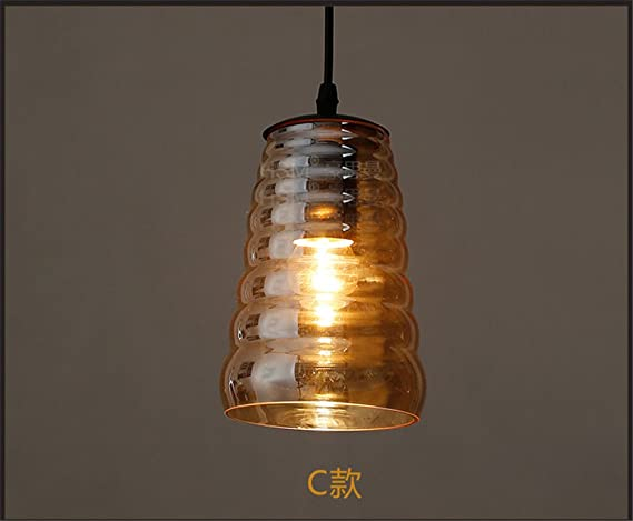 Plafoniere Vetro Vintage : Larsure vintage stile plafoniera lampada da a sospensione soffitto