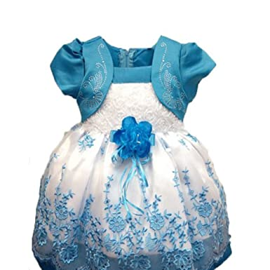 60bd69010 VERYCO Kids Girls Dress Puff Sleeve Floral Embroidery Princess Tulle Tutu  Dresses: Amazon.co.uk: Clothing
