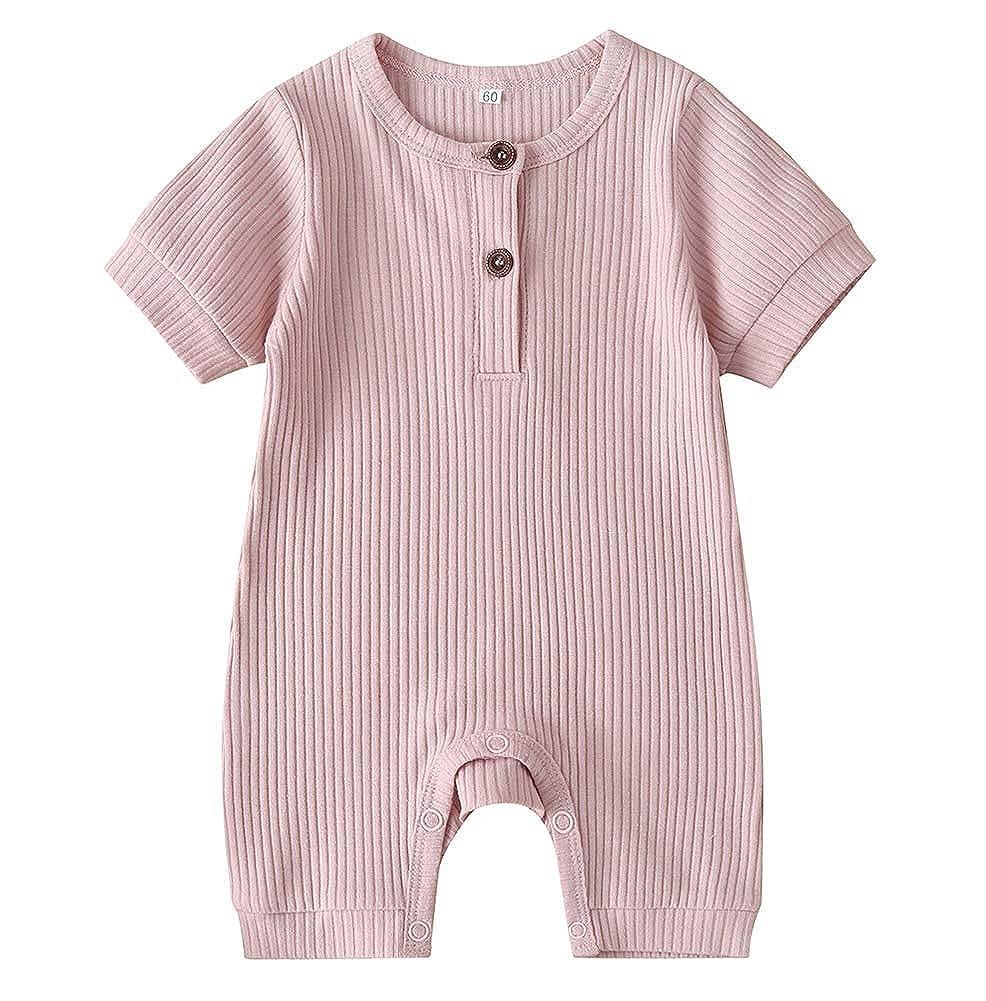 Buy MAINESAKA Newborn Baby Girl Long Sleeve Button Knitted Romper