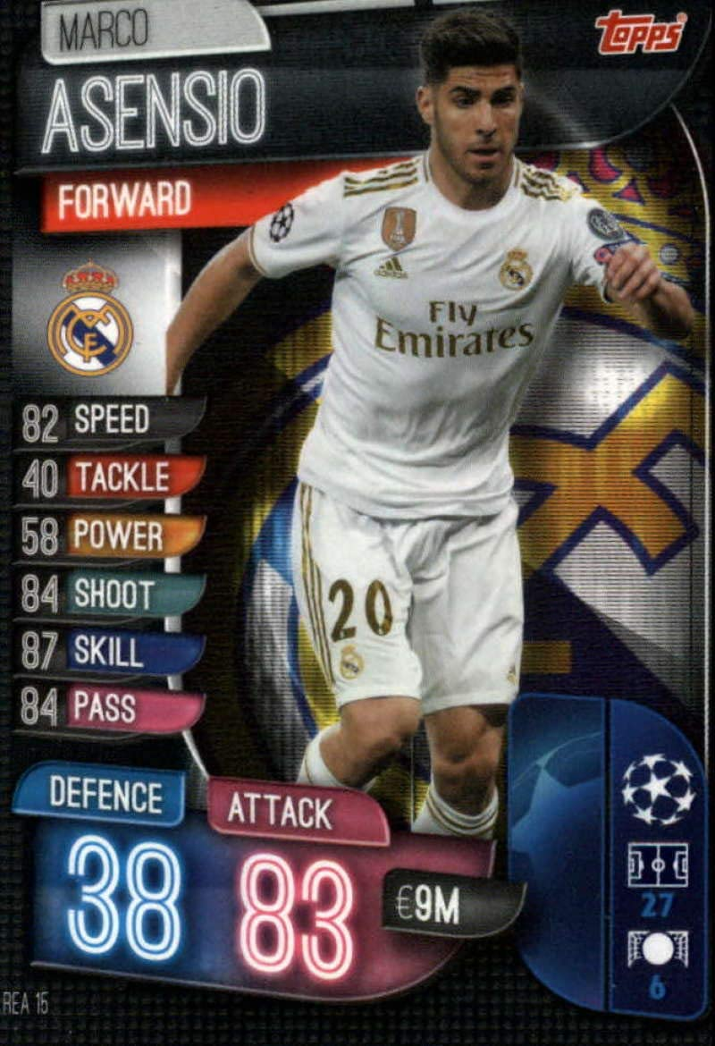 Champions League 17//18 Marco Asensio Real Madrid CF Sticker 17