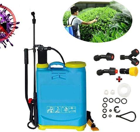 WHYTT Alta Velocidad Mochila herbicida jardín de presión Mochila Pulverizador de herbicida para jardín Pulverizador De Compresión para Fertilizantes Herbicidas Y Pesticidas: Amazon.es: Hogar