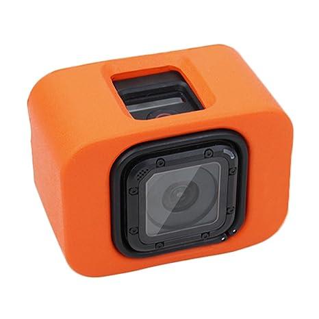 Funda Floaty de Puluz, con Abertura Trasera para GoPro Hero 5 Session o 4 Session