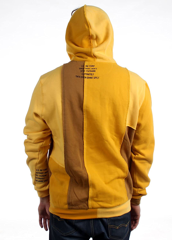 10.Deep - - Männer Vereinigung Hoodie Yellow