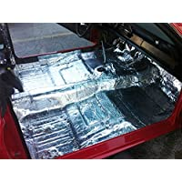 HushMat 612641 Sound and Thermal Insulation Kit (1964-1966 Mustang Floor)
