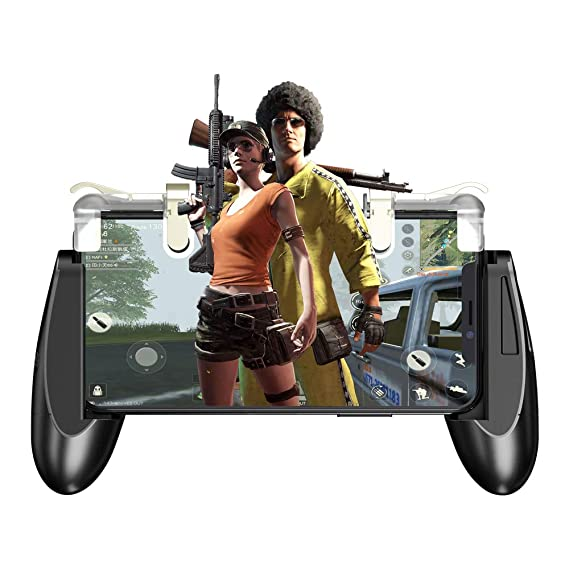 GameSir F2 Firestick Grip Mobile Phone Gaming Controller Grip Case with  Sensitive L1R1 Mobile Triggers for Knives Out/Rules of Survival, Upgraded