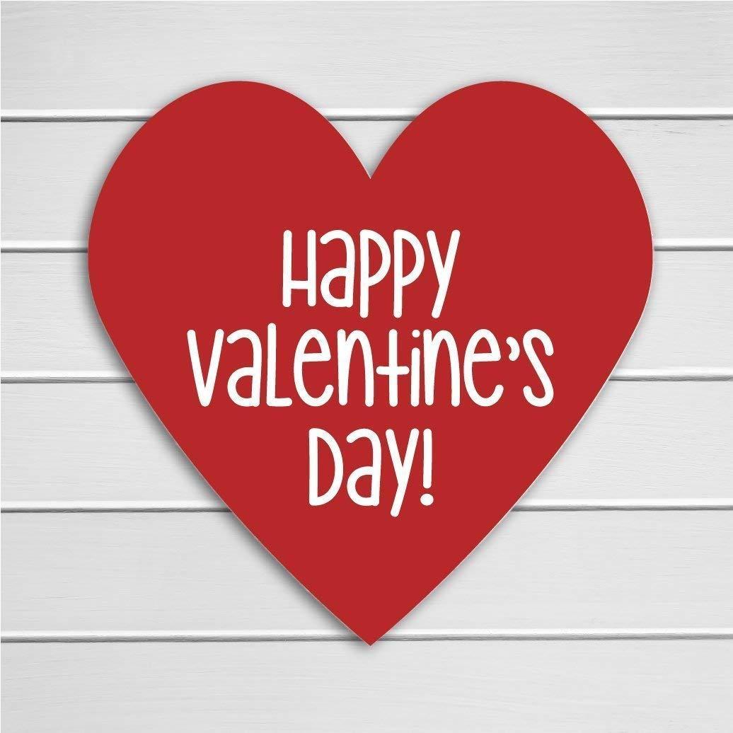 Amazon.com: 48 Heart Stickers. Happy Valentine's Day Stickers, Red Valentine  Stickers (#703): Handmade