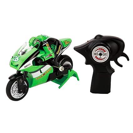 8012 1/20 Escala RC Motocicleta Control Remoto 2 Ruedas de Alta Velocidad 2.4G