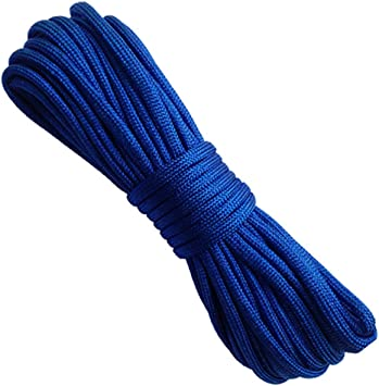 Egurs Cuerda de paracord (15 m), color azul marino: Amazon.es ...