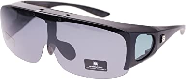 New Men Large Polarized Fit Over Sunglasses Flip-up//Lift-up Glasses For Myopia