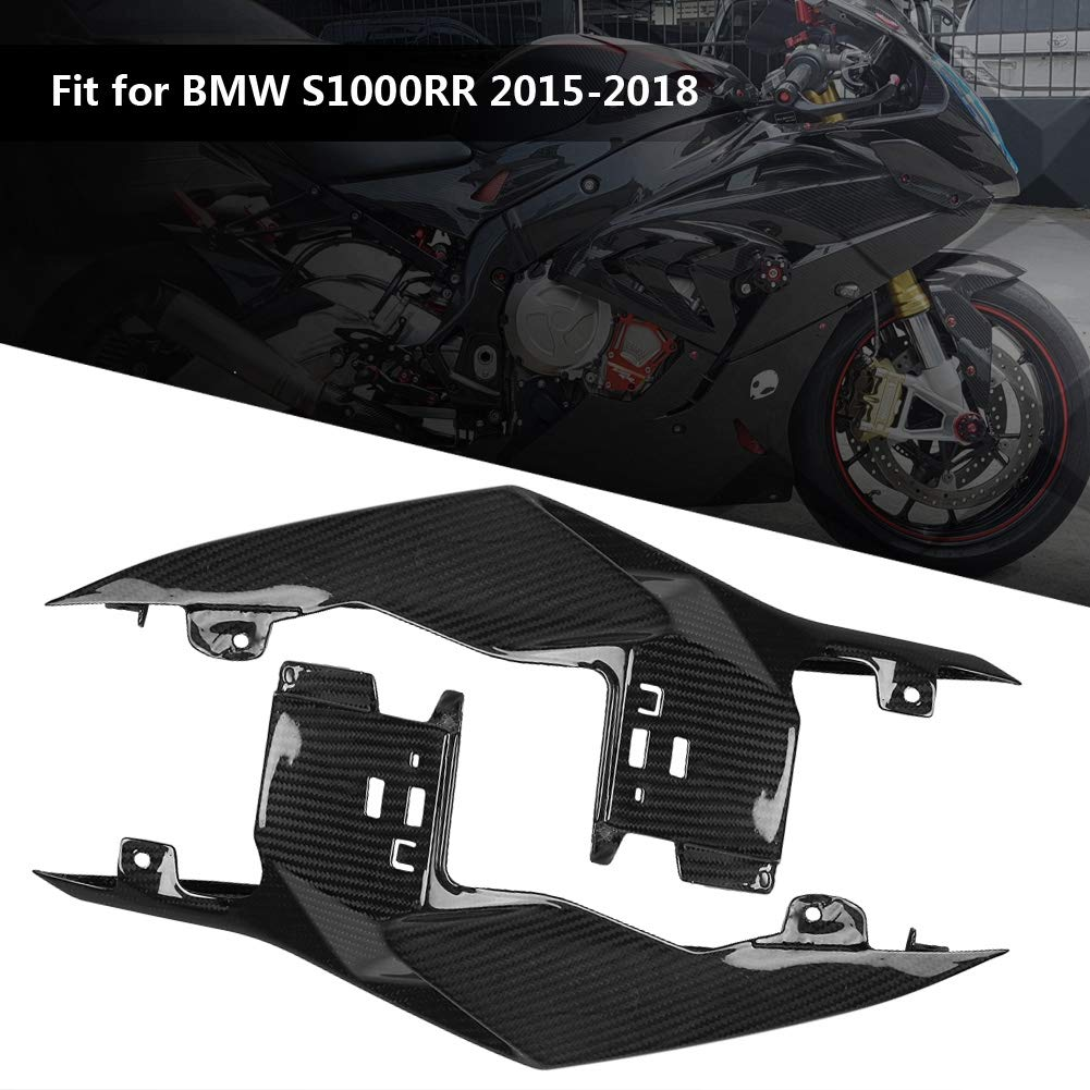 KIMISS Carbon Fiber Motorcycle Modified Rear Tail Seat Side Panels Cover Fairing for BMW S1000RR 15-18 by KIMISS (Image #2)