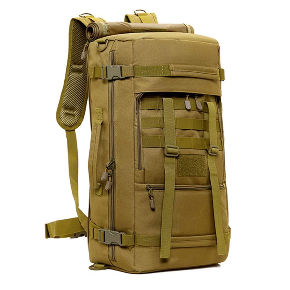 50L ミリタリーバッグ 丈夫 ユニセックス タクティカルバックパック バッグ キャンプ ハイキング 登山 バックパック スポーツ アーミーバッグ  1 B07H7MT6QD