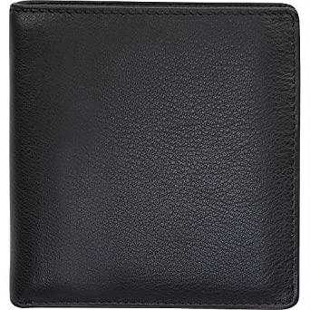 7be1a5e3c00 Wilsons Leather Mens Cashmere Leather Hipfold Black  Amazon.ca  Clothing    Accessories