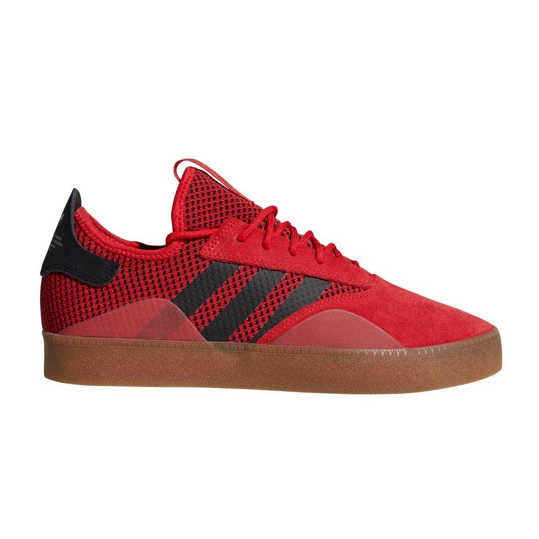 adidas 3ST.001 Skate Shoes Mens 11.5 D(M) US|Scarlet/Black/Gum
