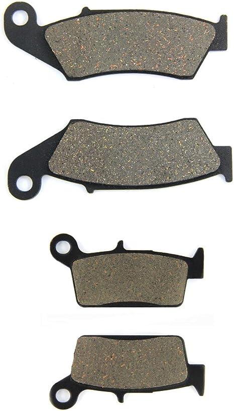 02-07 02-17 04-17 // CRF 450 R//X/ MEXITAL Pastiglie freno Ceramica organico Anteriori per CR 125 R ///CR 250 R/ // CRF 250 R//X/