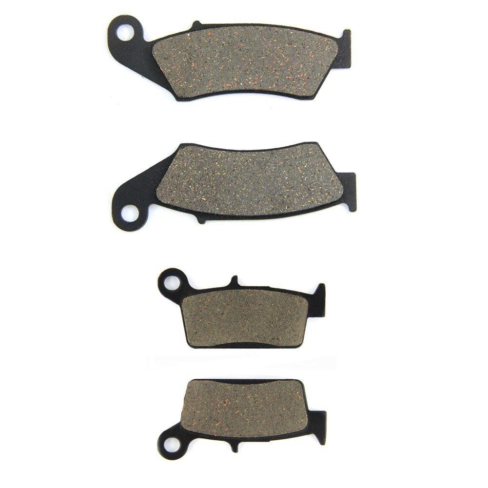1995-2001 Traseras para Honda CR 125 R/// CR 250 R//CR 500 R/ SOMMET Pastillas de Freno Delanteras