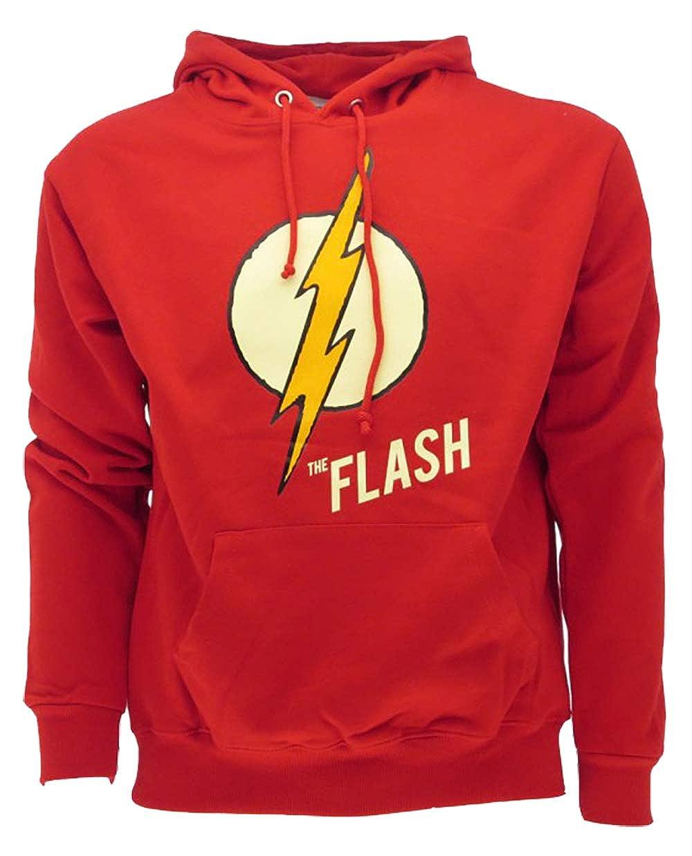 DC Comics Felpa The Flash Originale Serie TV Logo Fulmine