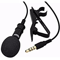 Meya Happy Digital Noise Cancellation Clip Collar Mic Condenser For Youtube Video Recording | Interviews | Lectures | News Reporting And Much More