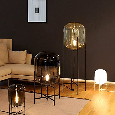 Nordic Style Glass Floor Lamp Fashion Design Glass Table Lamps For Living  Room/Country House
