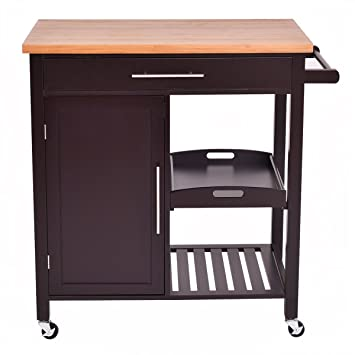 NEW 3-Tier Kitchen Bakeru0027s Rack Microwave Oven Stand Storage Cart Workstation Shelf Metal+  sc 1 st  Amazon.com & Amazon.com - NEW 3-Tier Kitchen Bakeru0027s Rack Microwave Oven Stand ...