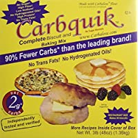 carbquik Baking Mix Now In A 3 Lb. Box by carbesse ntials