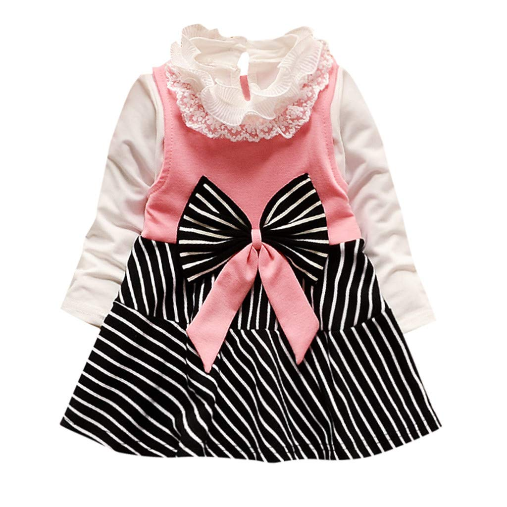 Pageant Tulle Cute T Shirt Dress Girl Long Sleeve Flower Floral Princess Dress
