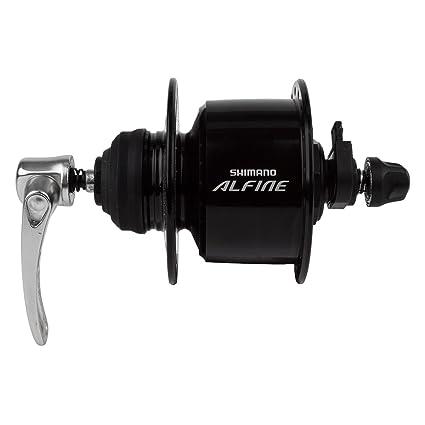 Amazon.com: Shimano DH-S501 Dynamo Hub, 36H, negro: Sports ...