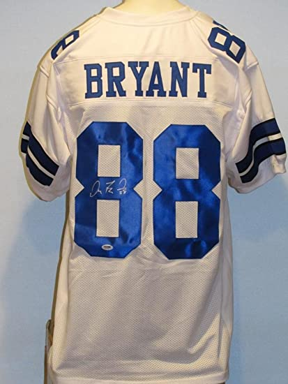 separation shoes fe98d 78c85 Dez Bryant Autographed Signed Cowboys Jersey PSA at Amazon's ...