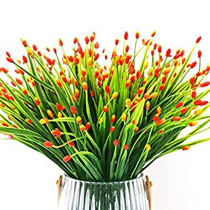 Yunuo 6PCS Mini Fruits Grasses Plants Artificial Flowers for Home Wedding Party Decor 107