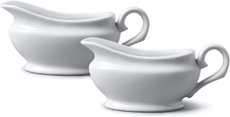Porcelain Gravy and Sauce Boats