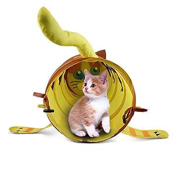 Hete-supply - Tienda de campaña para gatos, túnel y ...