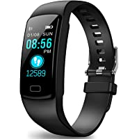 Fitness Tracker, Fitness Watch Health Exercise Activity Tracker Waterproof with Heart Rate Monitor and Sleep Monitor…