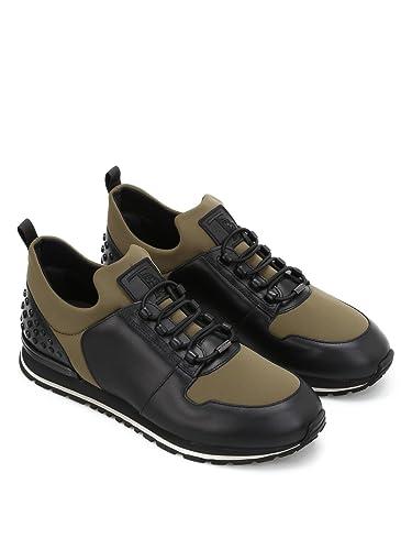 5595e48cba Tod's Sneaker multitessuto da Running XXM0XH0V400HQ964RI Nero Uomo ...