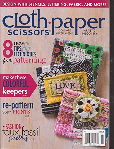 Cloth Paper Scissors Magazine January/February 2015 ()