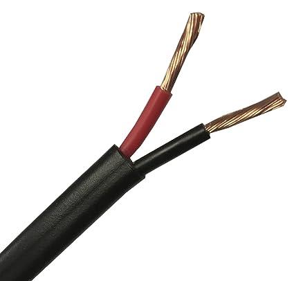 Cable Rojo genérico para Coche, 50 m, 16,5 A, 2 núcleos, 50 ...