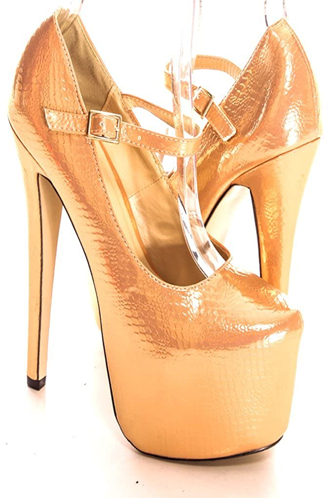 6-Inch Platform Heel Shoes as.