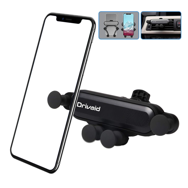 Drivaid Handyhalterung Auto Universale kfz halterung f/ür iPhone Sumsung Huawei 4.7 bis 6.5 Zoll Schwere Entl/üftung Handyhalter f/ürs Auto with Kratzschutz und 360/°Drehbarem Gelenk f/ür Autoentl/üftung