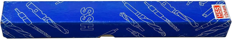 MaxTool 27//32 Silver and Deming Drill Bit Prentice ; High Speed Steel M2; 135 DEG Split Point; 6 OAL 1//2 Reduced Shank Black Oxide; SD02B00R054