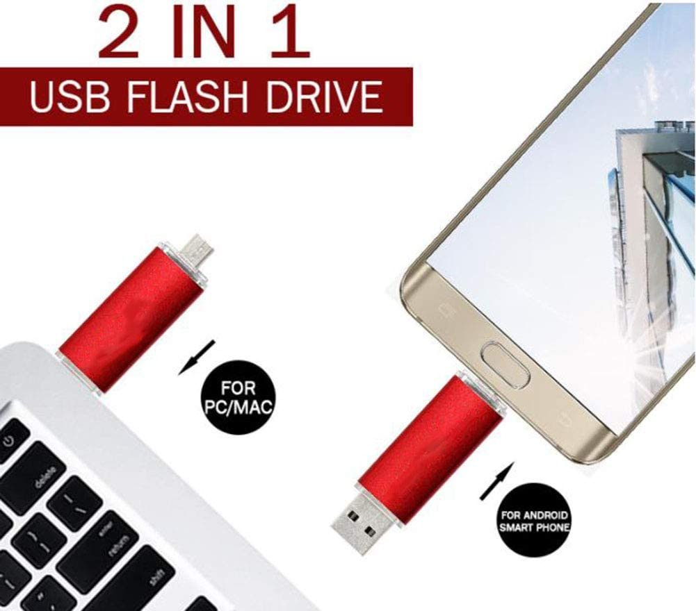 Clark Latin High Speed 2-in-1 USB Flash Drive Silver Grey 4GB Memory Stick USB 2.0 Flash Drive USB Memory Stick