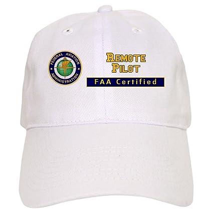 758dc4711aee98 Amazon.com: CafePress - FAA Certified Remote Pilot Baseball - Baseball Cap  with Adjustable Closure, Unique Printed Baseball Hat Khaki: Clothing