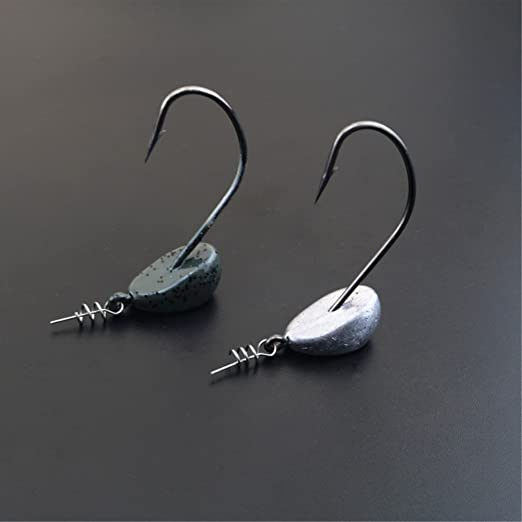 Details about  /Lure pins Hook Fishing Set Bait Spring Lock Gear Tool Accessories Silver