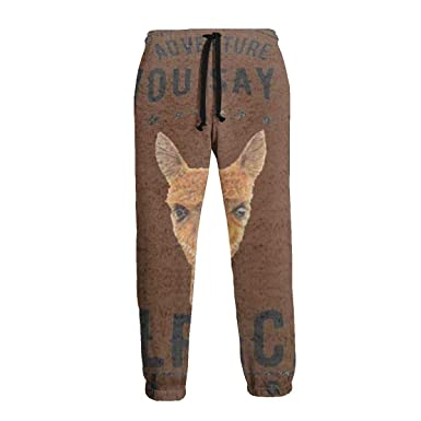 Ye Hua Pantalones de chándal Divertidos para Hombre Lama Alpaca ...